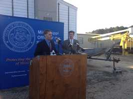 Michael Guest, the district attorney for Rankin and Madison counties, along with State Auditor Stacey Pickering, announce thatSix current and former city of Bassfield employees have received 10-year suspended sentences and five years of probation for their parts in converting city property to personal use.
