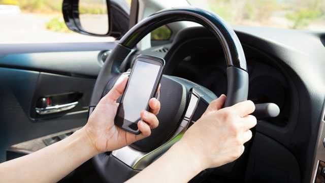 Texting while driving, distracted driving