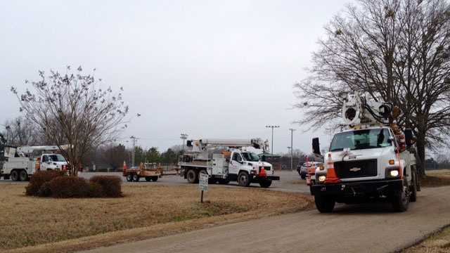 Entergy convoy leaves for Ark