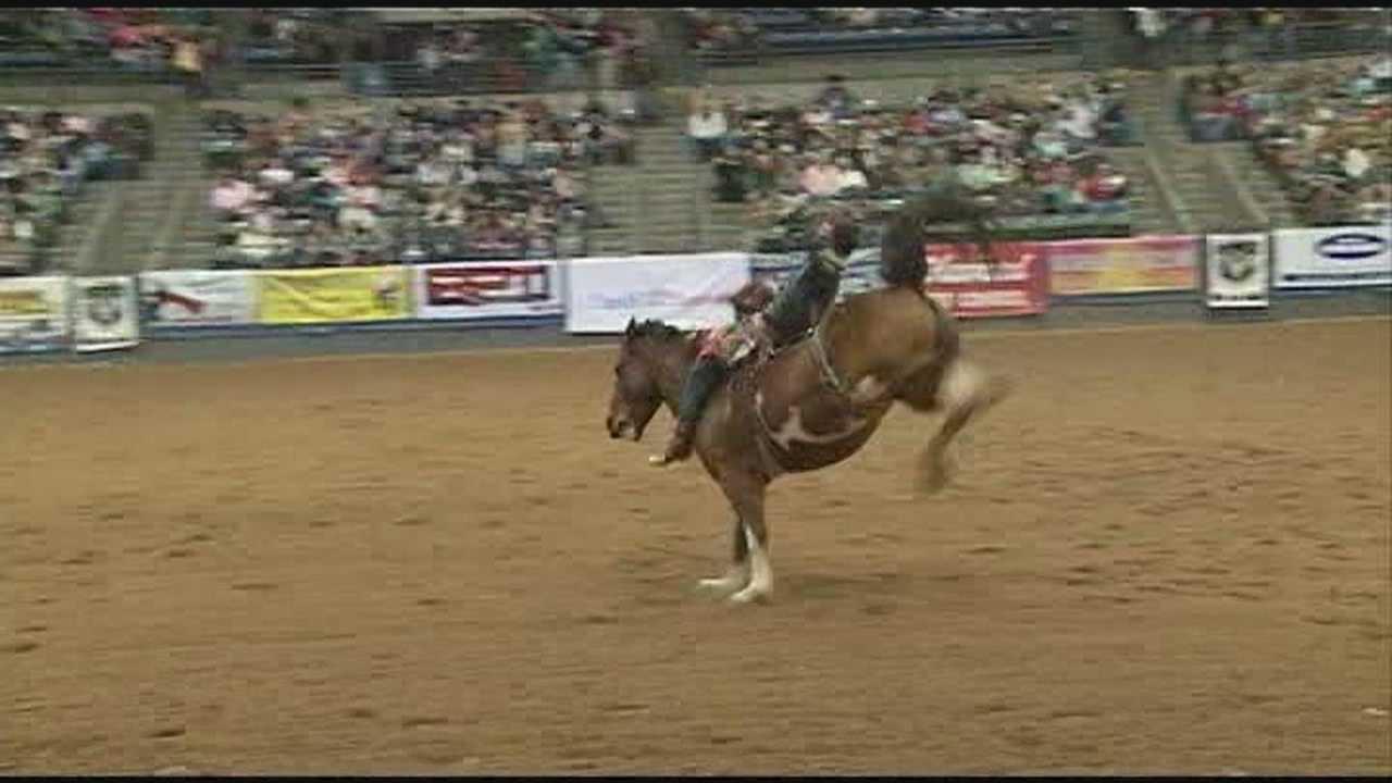 Dixie National Rodeo kicks off
