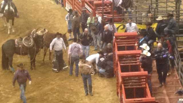 Rodeo accident