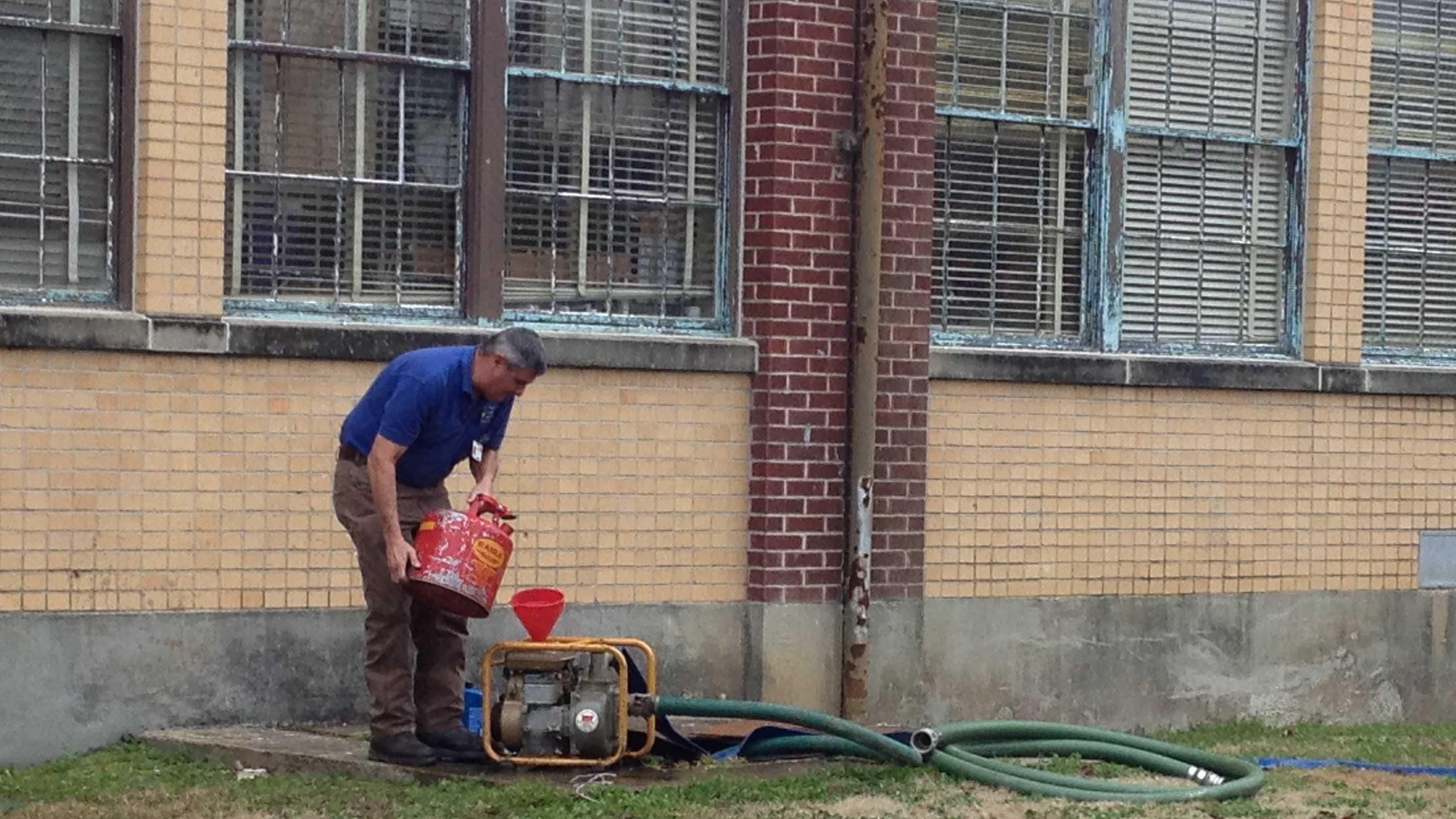 Lanier sewer problem