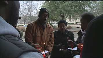 A candlelight vigil was held Wednesday for Jackson Mayor Chokwe Lumumba as the city council prepares to meet for the first time since the mayor died of health problems.