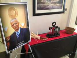 Mayor Chokwe Lumumba is remembered at Jackson City Hall.