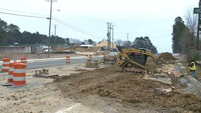 Pinehaven drive construction
