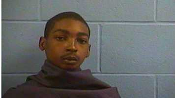 DeMarquette Foster, 18, of Vicksburg, is charged with shooting into an occupied vehicle.