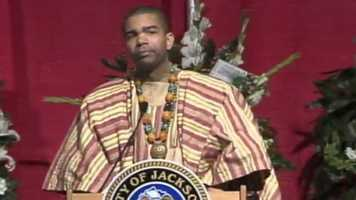 The mayor's son, Chokwe Antar Lumumba.