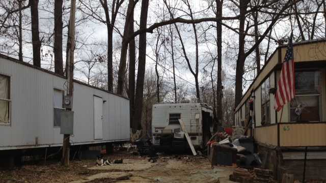motor home explosion
