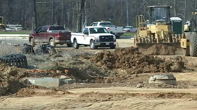 Grandview Boulevard construction