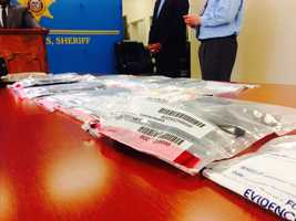 The Hinds County Sheriff's Department arrests someone trying to smuggle contraband into the jail.