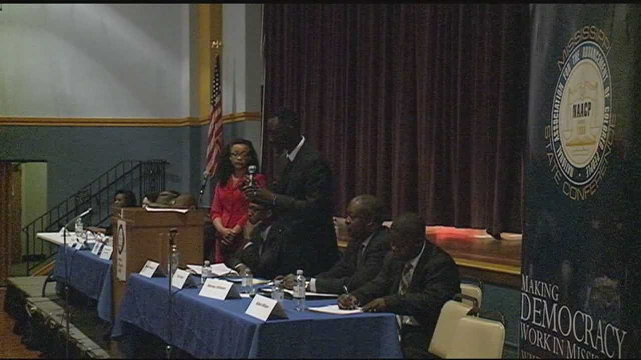 A packed-house tonight, as voters heard from some-candidates for Mayor-of-jackson.