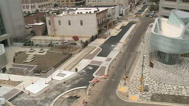 Capitol Street construction