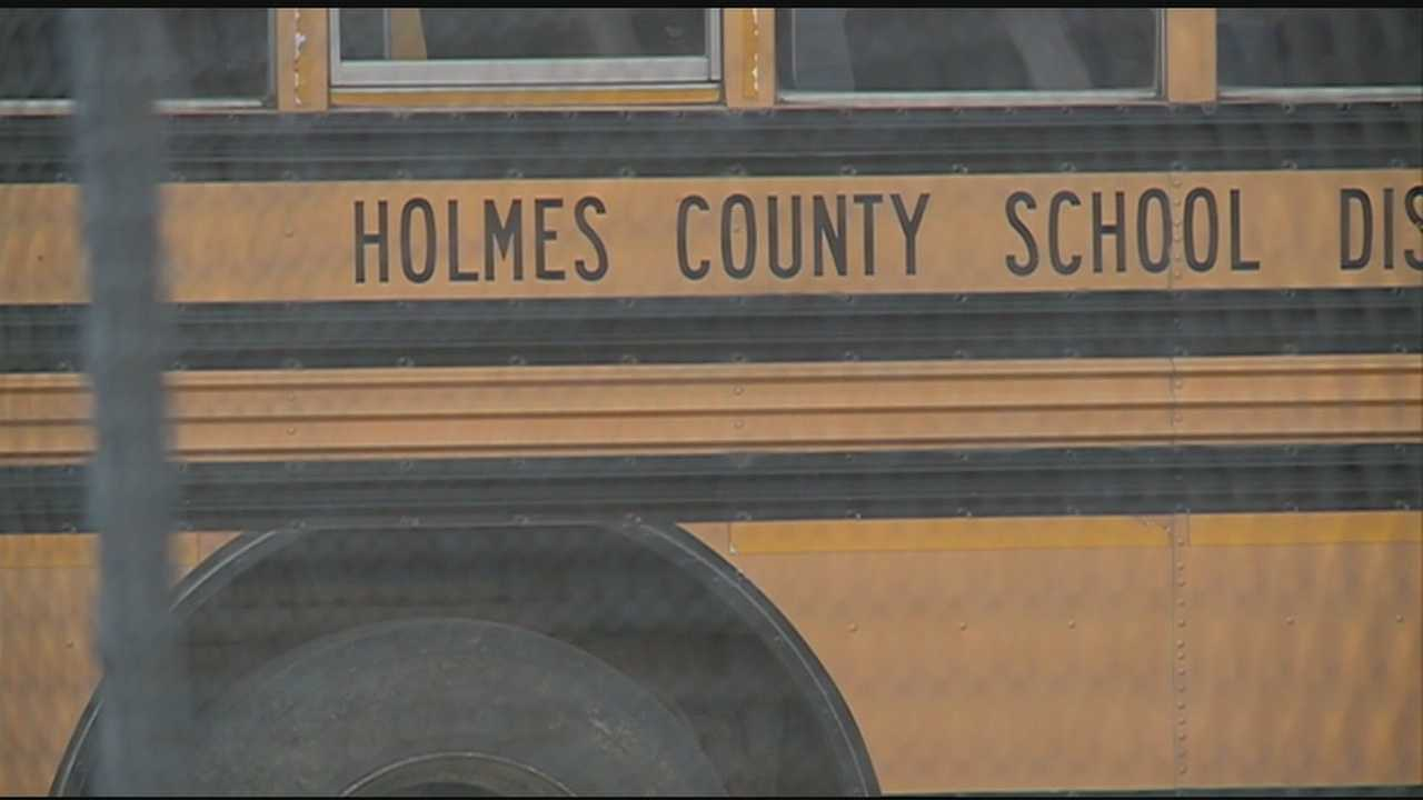 Holmes County school bus