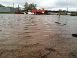 Flooding in Pelahatchie.