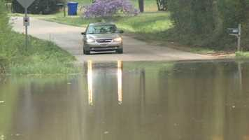 The small town of D'Lo is facing major flooding problems.