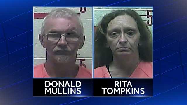 Donald Mullins, Rita Tompkins