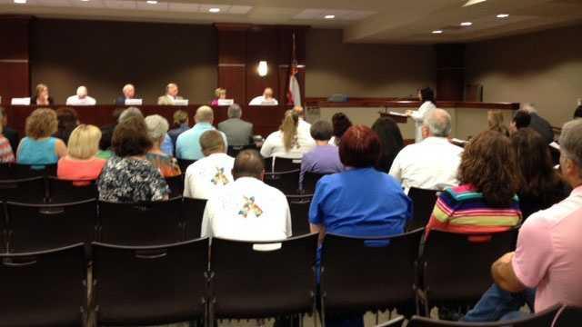 Rankin County School Board meeting