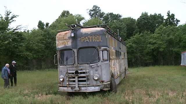 Highway Patrol bus from JSU shooting