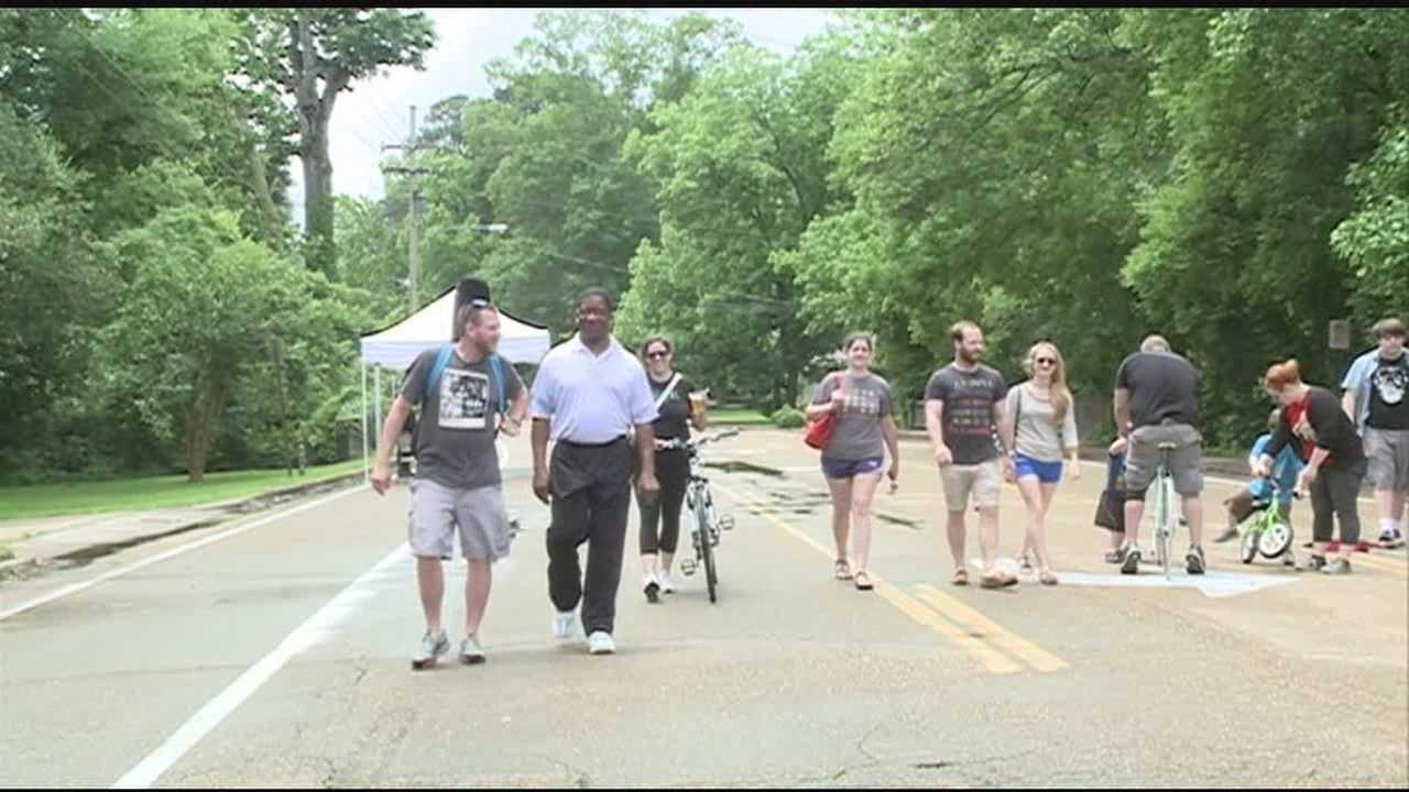 One Jackson organization wants more people out walking and biking.