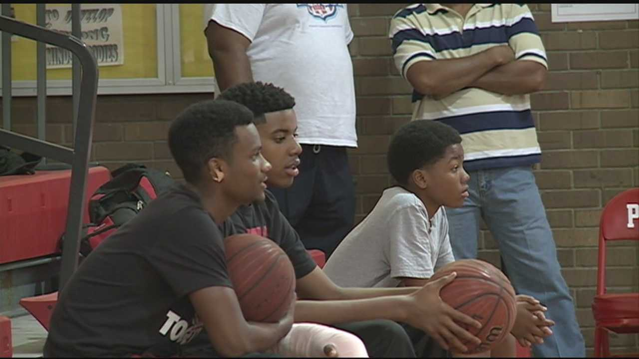 A Provine High School basketball player returned to practice after his coach revived him using CPR after suffering cardiac arrest.