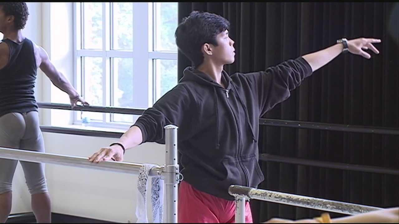 Ballet competition underway