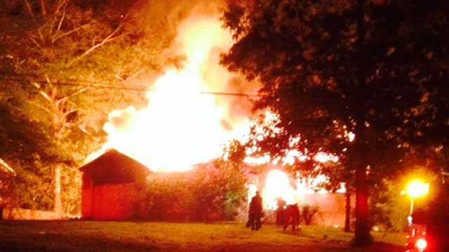 Pine Tree Drive house fire
