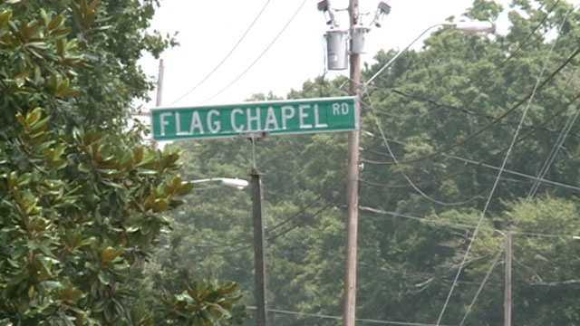 Flag Chapel Road