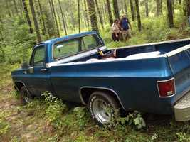The Sheriff's Department found Ray's truck abandoned off Highway 25. Investigators said they recovered some of the stolen property.