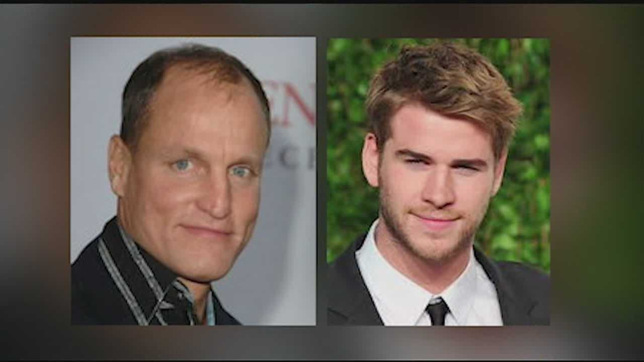 Woody Harrelson and Liam Hemsworth