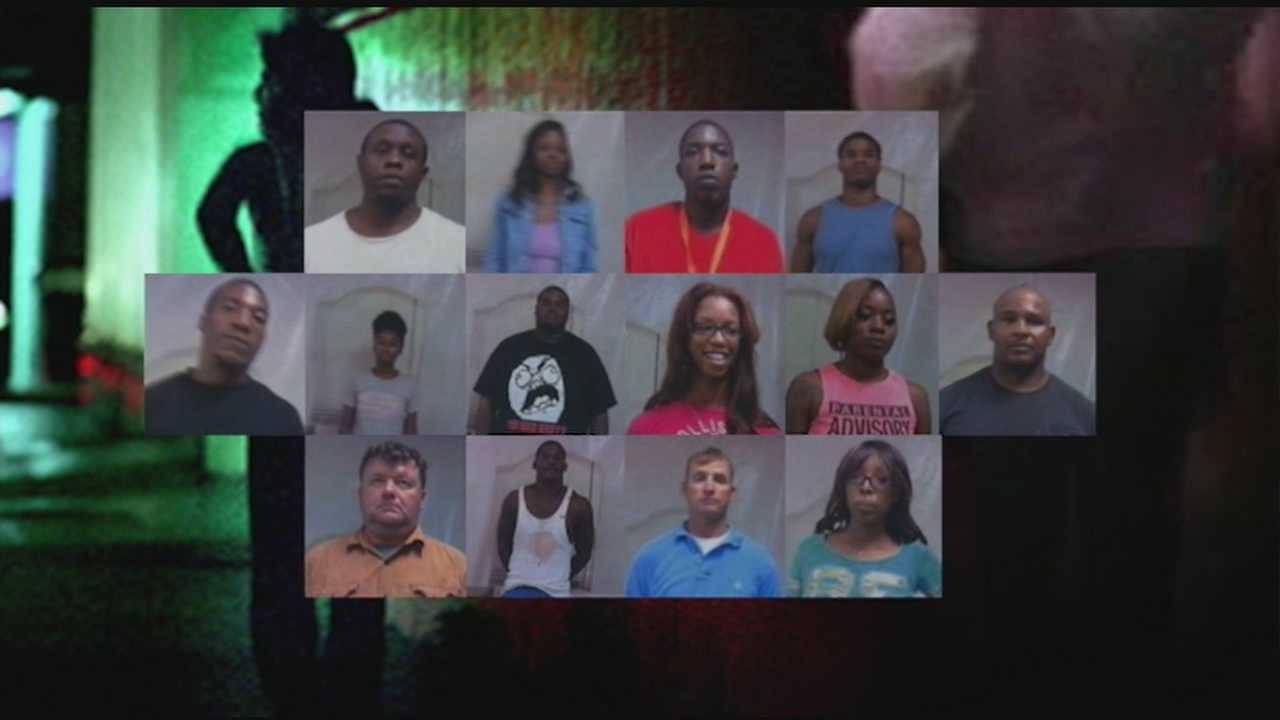 Arrests made in Pearl prostitution ring