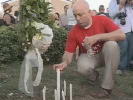 """Prayer vigil participants call for an end to """"hate crimes."""""""