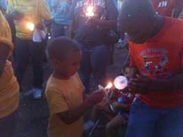 In mid-August 2011, the first of several prayer vigils are held at the Metro Inn.