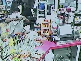 Jackson police say surveillance video captured the shooting.