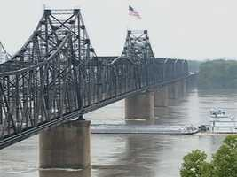 The Mississippi River rose to record levels in 2011, flooding some out of homes and businesses.