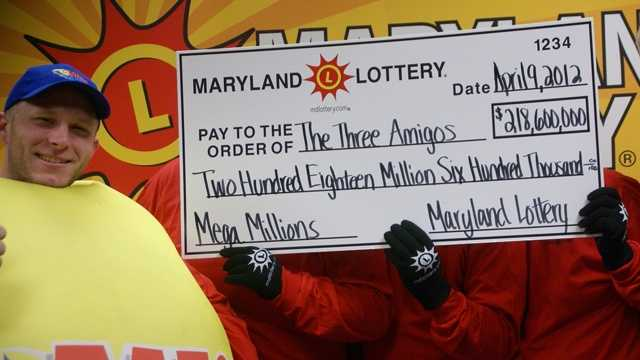 Maryland Mega Millions winners