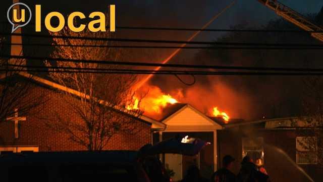 Pleasant Zion Baptist Church fire u local