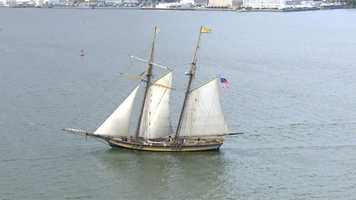 As the world's most-traveled historic schooner, Pride of Baltimore II sails globally promoting U.S. maritime history and serves as a unique learning platform for math, science and social studies programs.