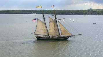 Pride of Baltimore II will also participate in Tall Ships America sponsored festivals in Savannah, Ga., Greenport, N.Y., Newport, R.I. and Halifax, Nova Scotia.