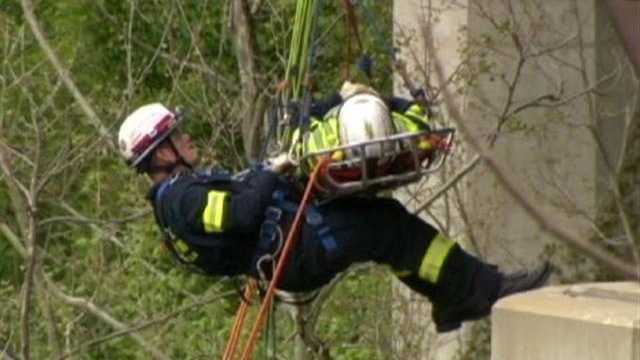 Howard County Rope Rescue Training Exercise