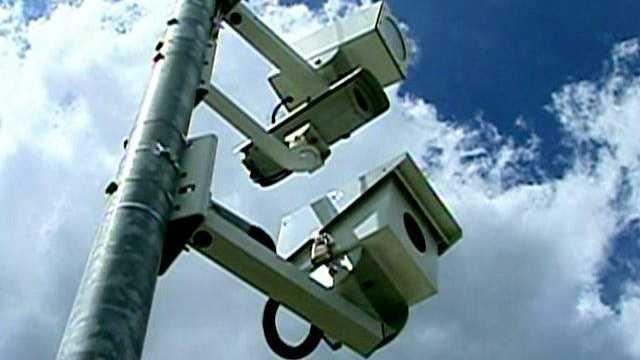 speed camera, red light camera, traffic camera