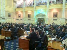 The delegates pass two amendments to the bill, which took an almost decade-long journey to reach passage in Maryland.