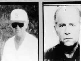 """Boston's dark side is real-life most-wanted fugitive James """"Whitey"""" Bulger,"""" who was arrested last year."""