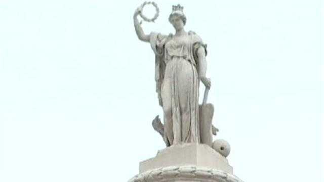 Lady Baltimore statue