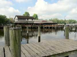 This isMike's Crab House on the South River in Riva.