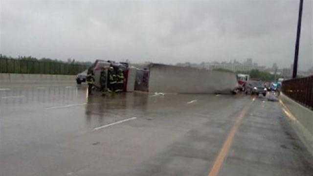 I-95 tractor-trailer crash