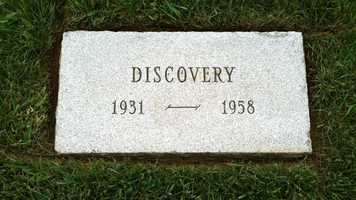 Discovery placed second in the Kentucky Derby in 1934.