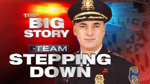 Baltimore Police Commissioner Fred Bealefeld stepping down graphic