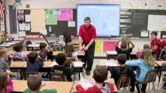 Baltimore County classroom