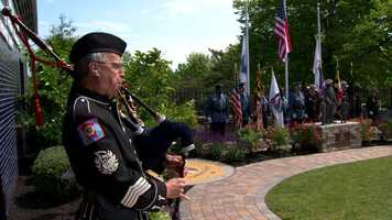 Howard County's unveils a new memorial for a state trooper killed in a crash on Interstate 95.