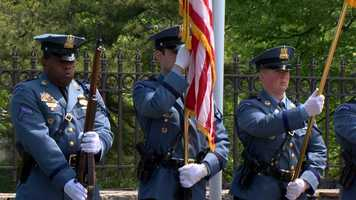 Maryland State Trooper 1st Class Shaft Hunter died in a crash almost a year ago.